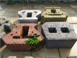 郑州舒布洛克400*300*150生态混凝土挡土墙砖厂家直销