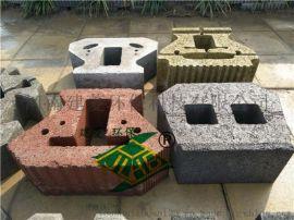 鄭州舒布洛克400*300*150生態混凝土擋土牆磚廠家直銷