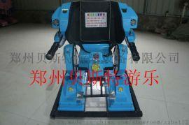 河北秦皇島機器人碰碰車造型炫酷非常的受歡迎
