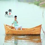 4米山东河北辽宁景区装饰木船欧式船 道具装饰船出售厂家直销两头尖客船