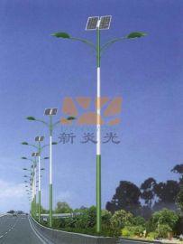 成都新炎光6米7米8米太阳能路灯生产厂家