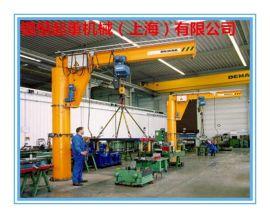 3吨定柱式悬臂起重机 悬臂吊 旋壁吊