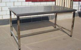 鹹陽供應商用廚房設備不鏽鋼工作臺報價電話
