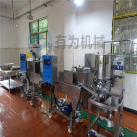 自动化生产肉饼成型机,YW100型肉饼鱼饼成型设备