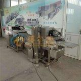 DR6竹夹鱼排裹粉机 裹浆机 裹浆裹糠油炸线设备