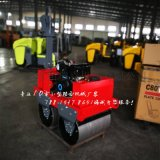 SVH50手扶式双钢轮压路机柴油电启震动小型压路机