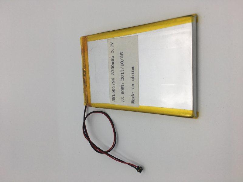 505794-3700mah华瑞隆聚合物锂电池