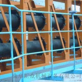 圆管带式输送机输送粮食 固定型