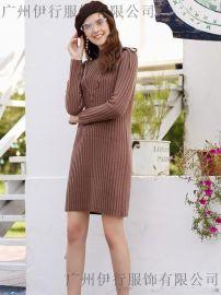 韩版女装品牌三彩 品牌折扣货源三彩广州哪有批发