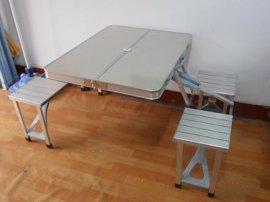 便携式休闲户外促销铝合金折叠桌