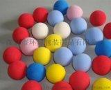 弹力球EVA球EVA彩虹球玩具球玩具子弹球海绵球