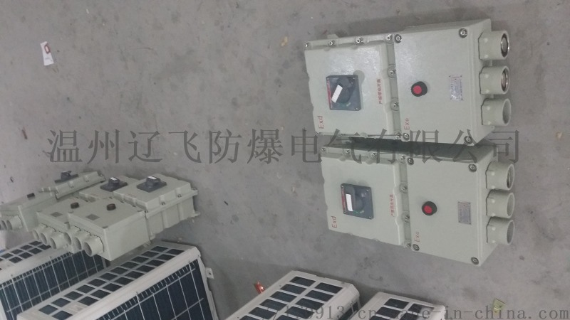 BLK防爆斷路器/正泰元件防爆開關/粉塵防爆斷路器