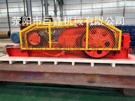 厂家供应双辊式破碎机制砂机新型矿石细碎机液压对辊支持定制