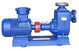 铸铁ZW自吸式无堵塞排污泵