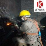 陶瓷耐磨料 脱销烟道用耐磨胶泥 龟甲网防磨料
