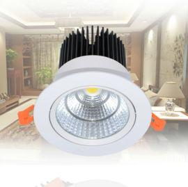 經典臺階款LED天花燈、室內照明COB天花燈