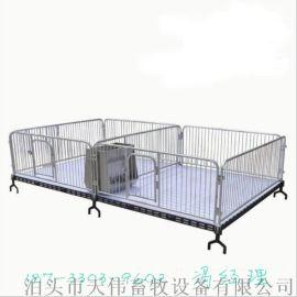 双体2.2*3.6铸铁仔猪保育床养猪北京赛车育肥栏