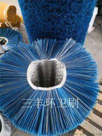 钢厂清扫器毛刷片、钢厂清扫车毛刷