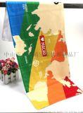 廠家定製數碼印花運動巾超細纖維速幹雙面絨毛巾