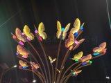 蝴蝶造型防水造型灯 恒逸造型灯 大型造型灯