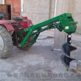 树坑机   加厚材质拖拉机悬挂式挖坑机