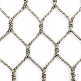 隆恩绳网厂家 定制卡扣编织不锈钢绳网