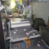 黄金藕盒上浆机 藕盒上粉机 藕盒油炸机生产线