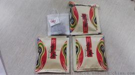 养生茶叶包装机 袋泡茶内外袋一体机灌装封口包装机