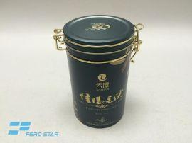 绿茶铁罐,装铁扣罐,自封罐,茶叶密封罐