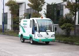 四轮电动垃圾清运车 园林/物业/厂区环卫保洁车 可自卸