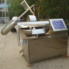 生产牛蒡酱用斩拌设备  全自动变频鲜牛蒡斩拌机