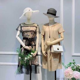 淘宝商城韩版女装她衣柜在香坊哪里有店品牌女装尾货背心库存女装地摊大码女装韩版批发货源