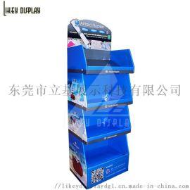 日用品桌面纸展示盒 纸PDQ 纸坐台 纸货架陈列架