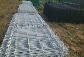 三角折弯防护栏|折弯护栏网/厂区护栏