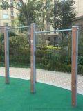 廣鑫體育直銷高檔塑木高低槓等各種塑木健身路徑