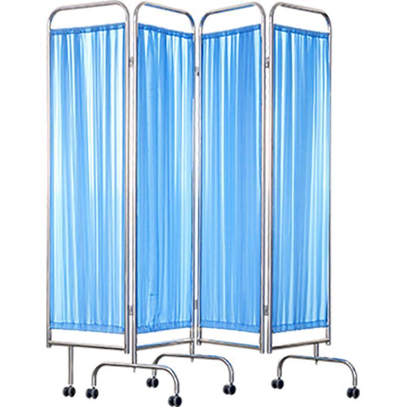 SKH049 四页医用屏风 可移动折叠屏风