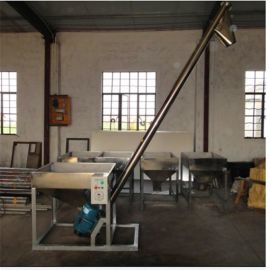 螺旋提升机专业生产厂家不锈钢螺旋提升机可来图定制