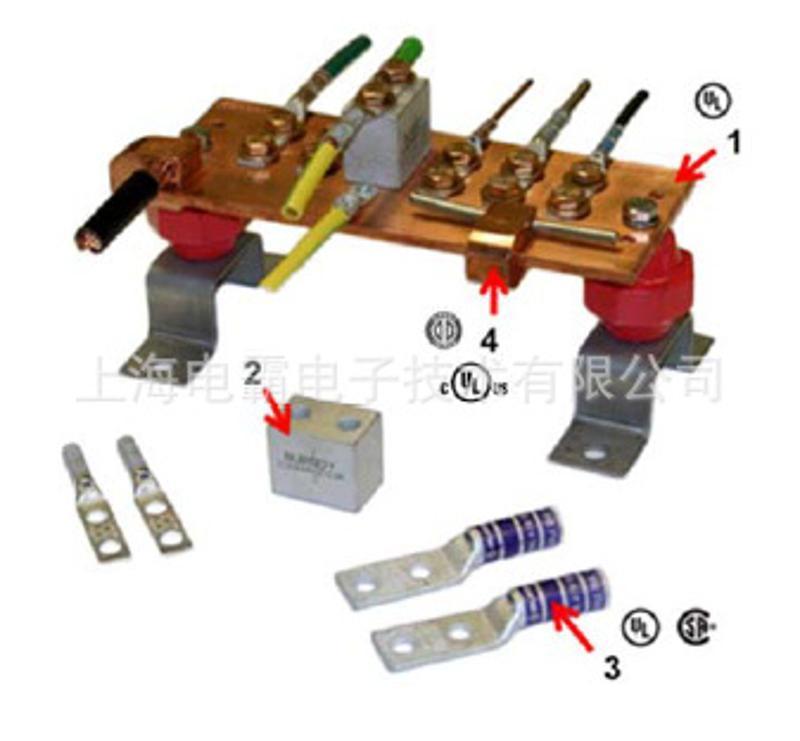 UL铜排端子连接器   美国进口