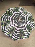 定製熱印轉花海灘傘、戶外遮陽傘、廣告太陽傘定做