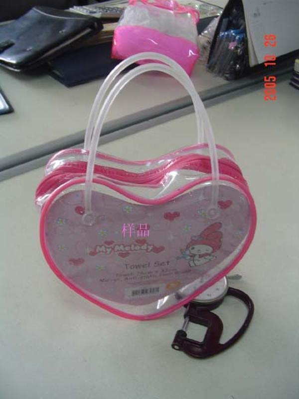 专业生产PVC广告礼品袋