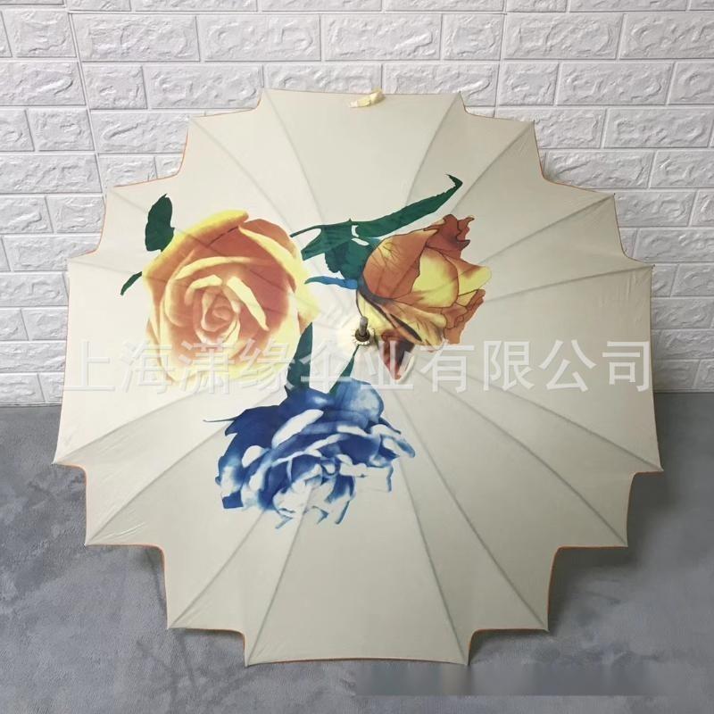 定製特色造型傘、工藝傘、女式復古花傘