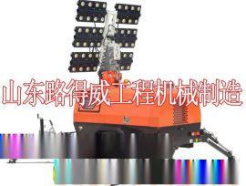 厂家直销 专业生产 工程照明车 品质保证 山东路得威 RWZM62C手推式照明车