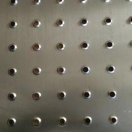 鱼眼形防滑板 不锈钢防滑板 防滑冲孔网