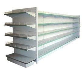 超市货架单双面超市货架背板网格超市货架收银台柜台