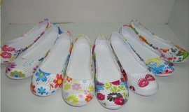 EVA注塑转印女鞋