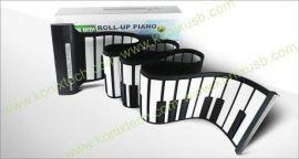 手卷钢琴 61键手卷钢琴 MIDI键盘