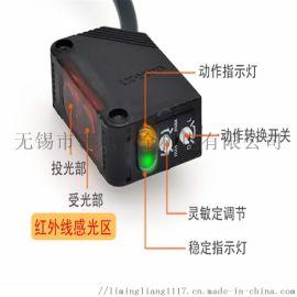 欧姆龙漫扩散反射光电开关传感器E3ZD61