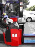 廣州佛山1-2噸電子稱託盤堆高車 帶打印電子稱叉車