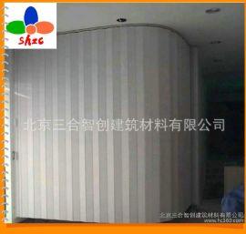北京多款式手动欧式pvc塑料厕所门折叠门