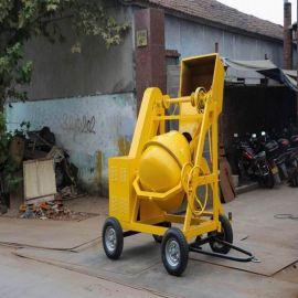 JF300 柴油移动式滚筒搅拌机